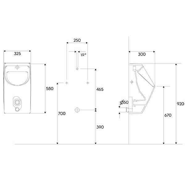 pisuar renova nr 1 plan bez pokrywy remont. Black Bedroom Furniture Sets. Home Design Ideas