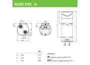 NUOS EVO 80 EU - podgrzewacz wody z pompą ciepła