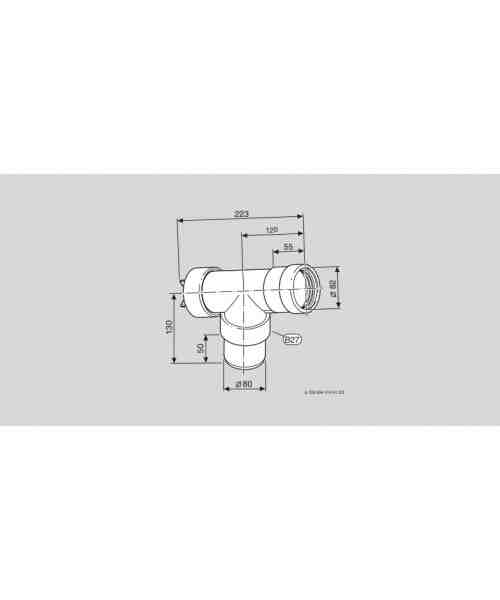 Azb 624 Trójnik (90O) Z Rewizją