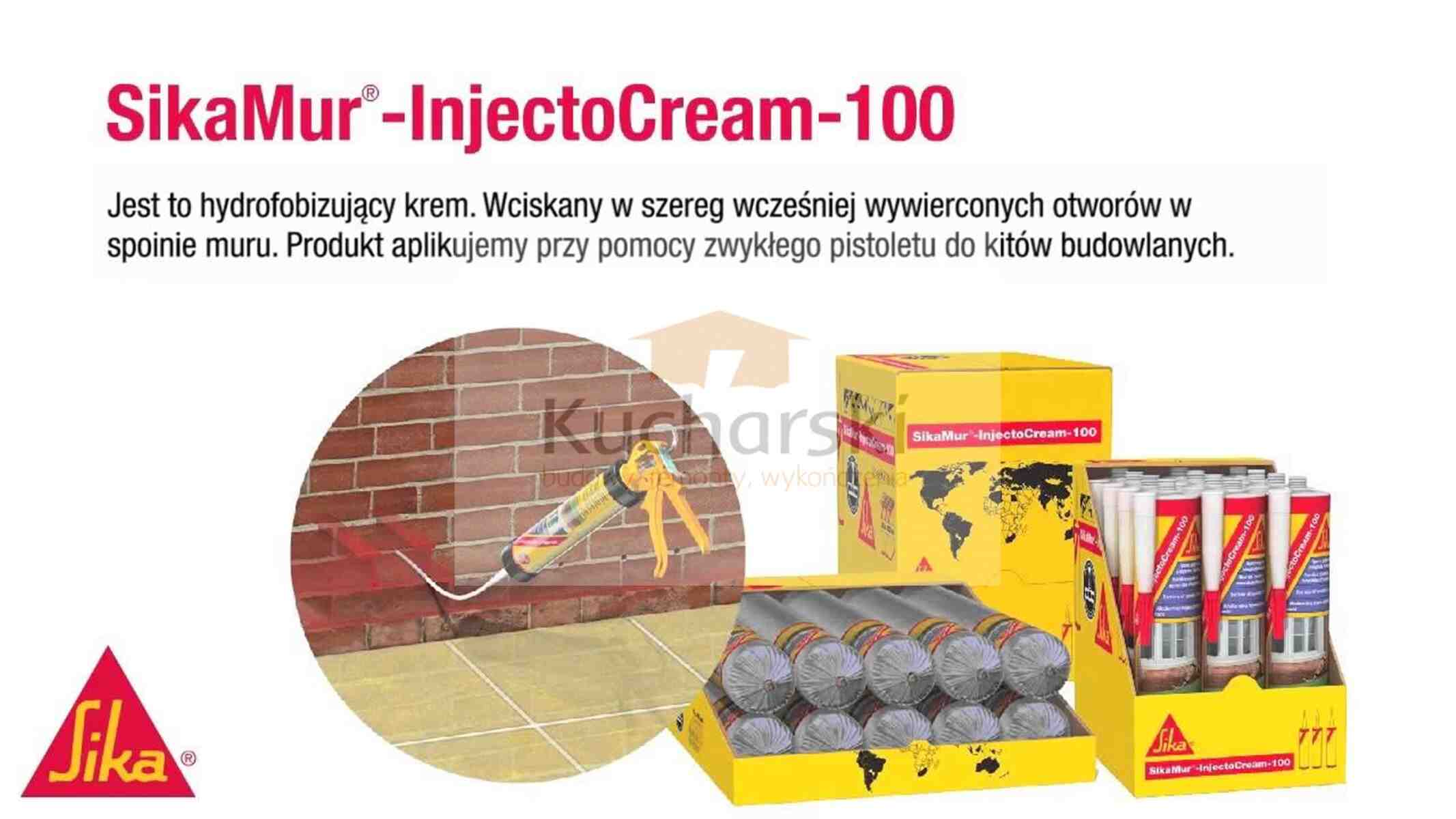 SikaMur ® - InjectoCream - 100