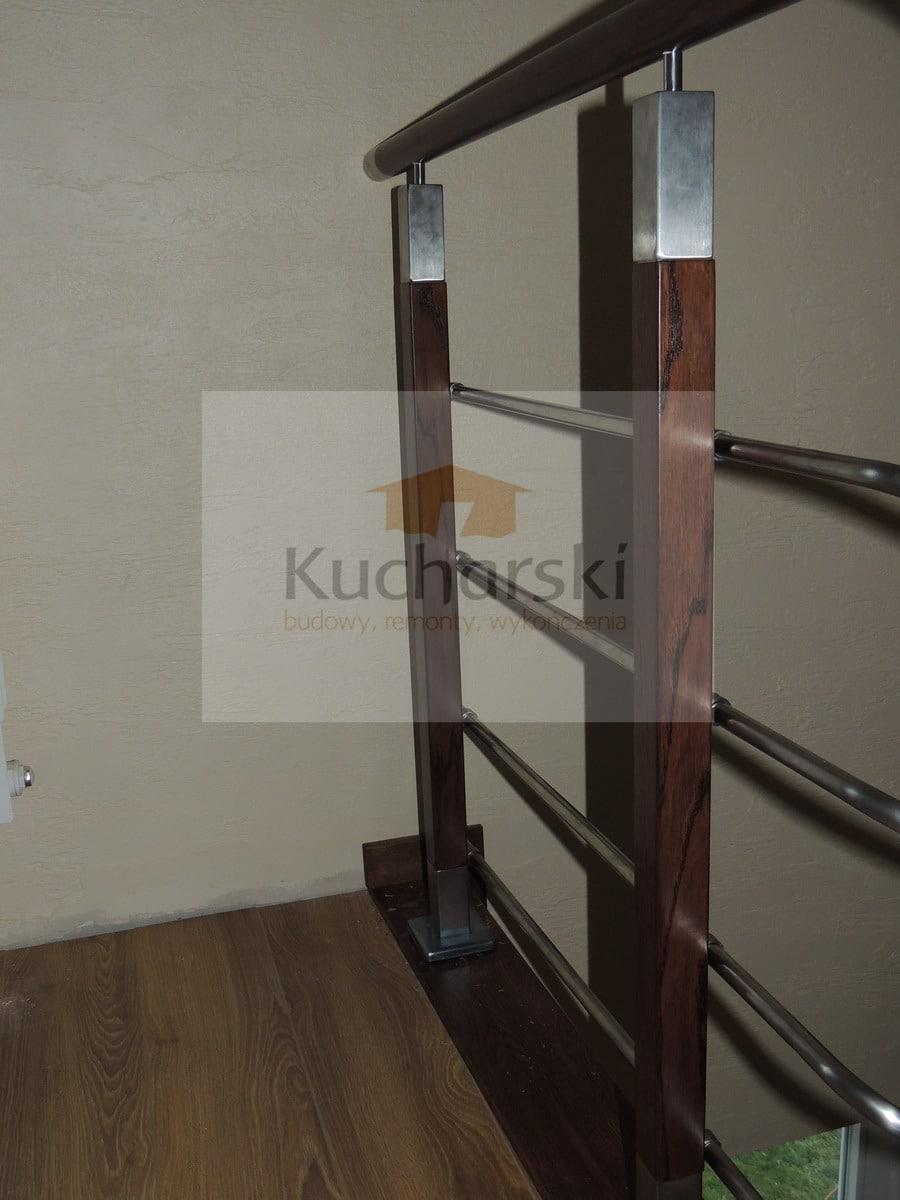 barierki schodowe drewniane