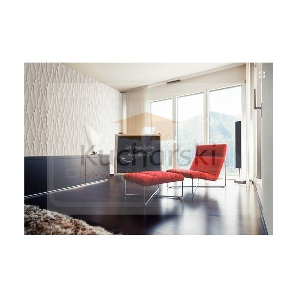 Loft Design System - Dekor 24 - Panel dekoracyjny ścienny 3D 01