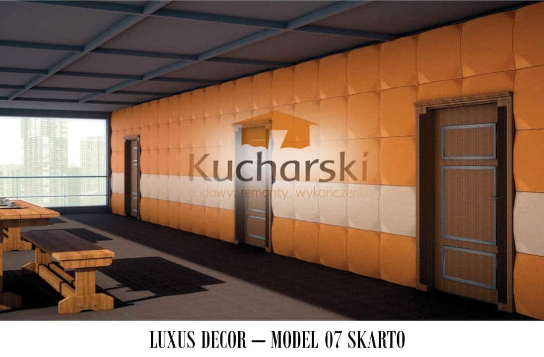 Luxus Decor - Kolekcja 2013 - Model 07- Skarto - Panel dekoracyjny ścienny 3D