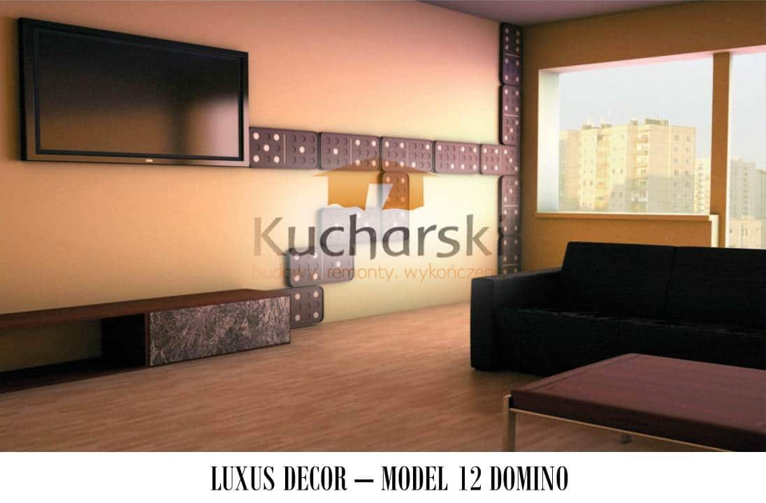 Luxus Decor - Kolekcja 2013 - Model 12 - Domino - Panel dekoracyjny ścienny 3D