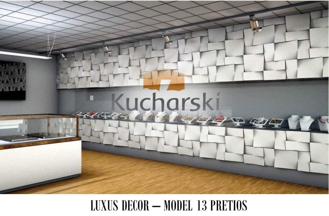 Luxus Decor - Kolekcja 2013 - Model 13 - Pretios - Panel dekoracyjny ścienny 3D