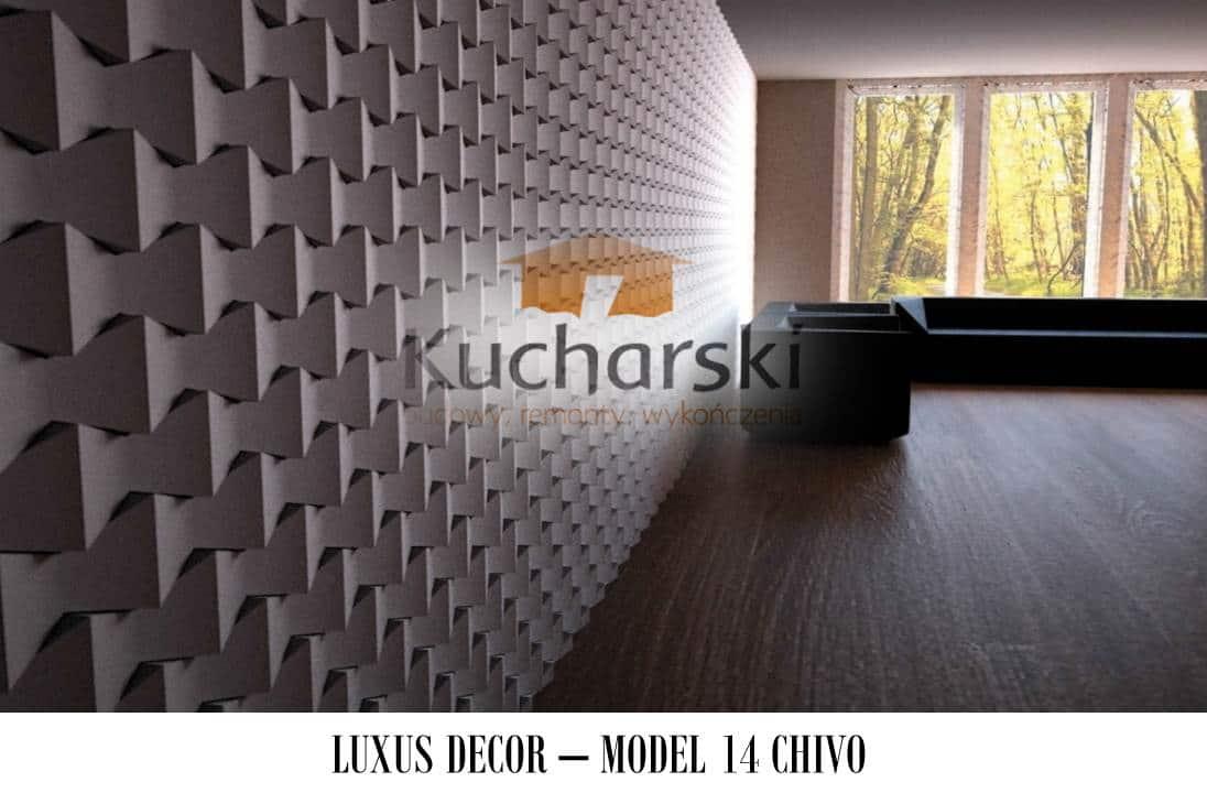 Luxus Decor - Kolekcja 2013 - Model 14 - Chivo - Panel dekoracyjny ścienny 3D