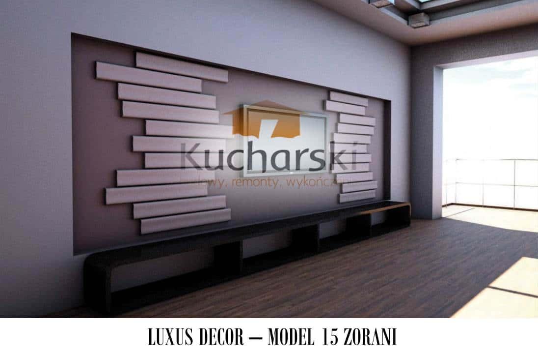 Luxus Decor - Kolekcja 2013 - Model 15 - Zorani - Panel dekoracyjny ścienny 3D