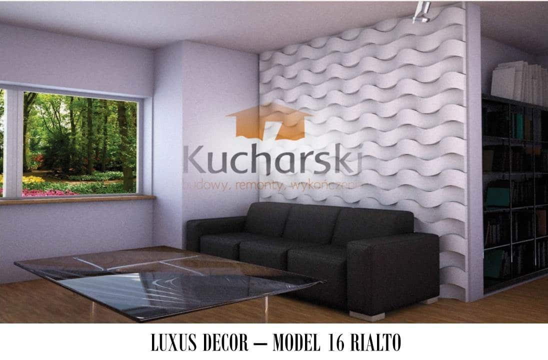 Luxus Decor - Kolekcja 2013 - Model 16 - Rialto - Panel dekoracyjny ścienny 3D