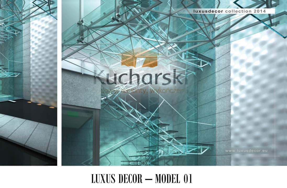Luxus Decor - Kolekcja 2014 - Model 01 - Panel dekoracyjny ścienny 3D