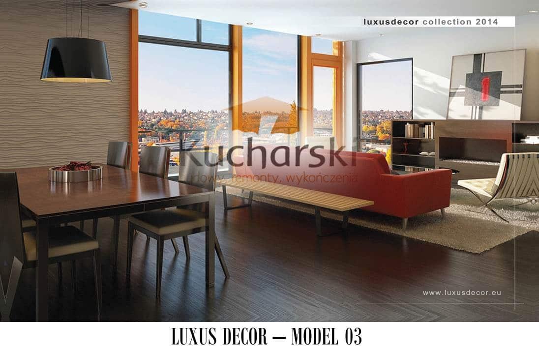 Luxus Decor - Kolekcja 2014 - Model 03 - Panel dekoracyjny ścienny 3D