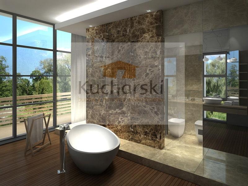 Projekt łazienka z naturalnego kamienia