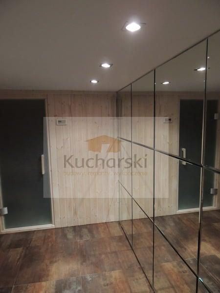 Adaptacja pomieszczenia na saunę