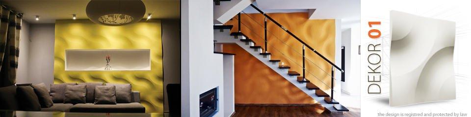 panele dekoracyjne 3 D