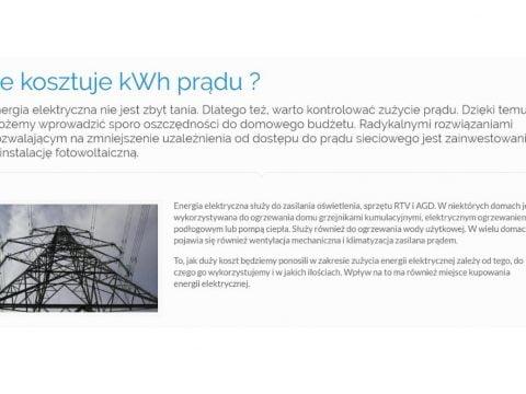 Ile kosztuje kWh prądu