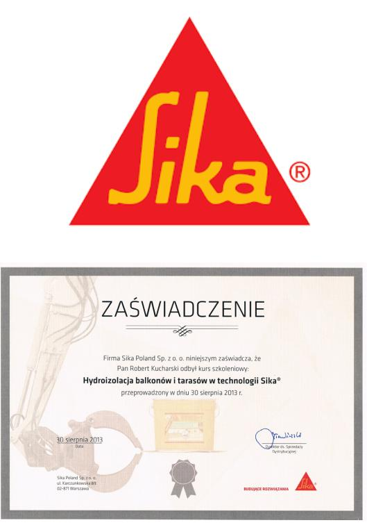 certyfikat + logo