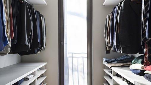 Wentylacja w garderobie