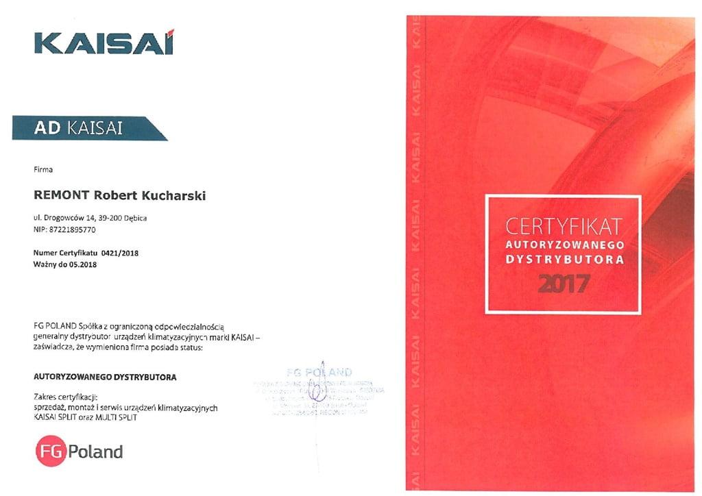 Kaisai remont - kucharski robert 2018
