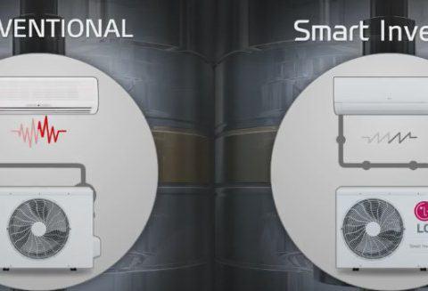 LG SMART INVERTER cicha klimatyzacja LG