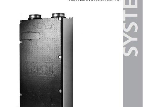 Instalacja i użytkowanie central wentylacyjnych vasco d275 (ep) ii -A