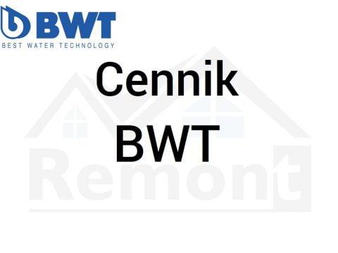 Cennik BWT