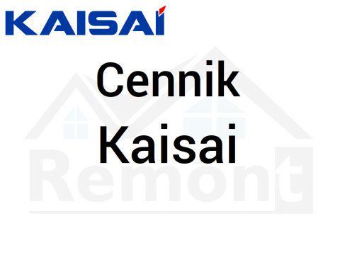 Cennik Kaisai