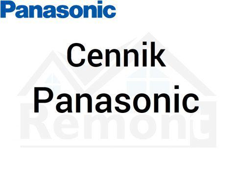 Cennik Panasonic