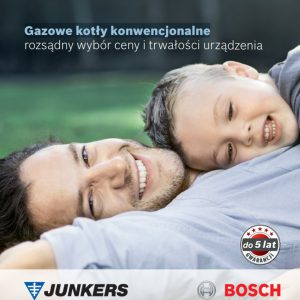 Junkers - Gazowe kotły konwencjonalne