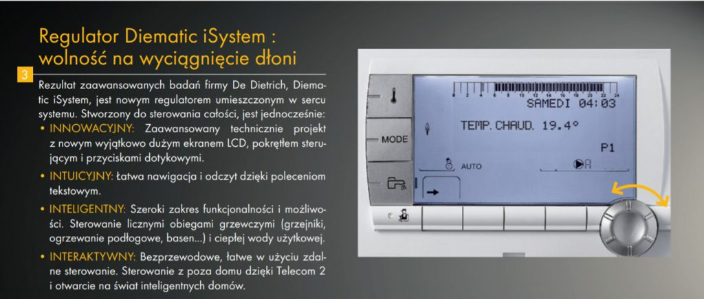 Regulator Diematic iSystem