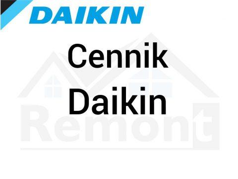 Cennik Daikin