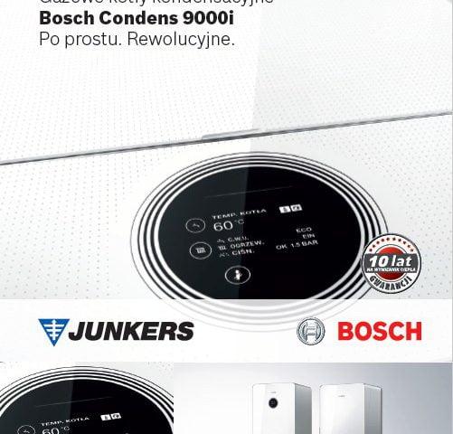 Gazowe kotły kondensacyjne Condens 9000i