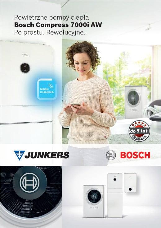 Junker Bosch Compress 7000i AW - Powietrzne pompy ciepła