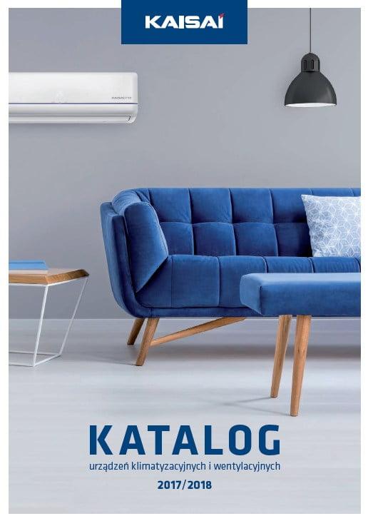 Kaisai - katalog urządzeń klimatyzacyjnych i wentylacyjnych 2017-2018