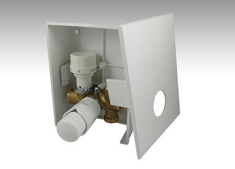 Kasetowy zawór termostatyczny kombi marki Schlosser