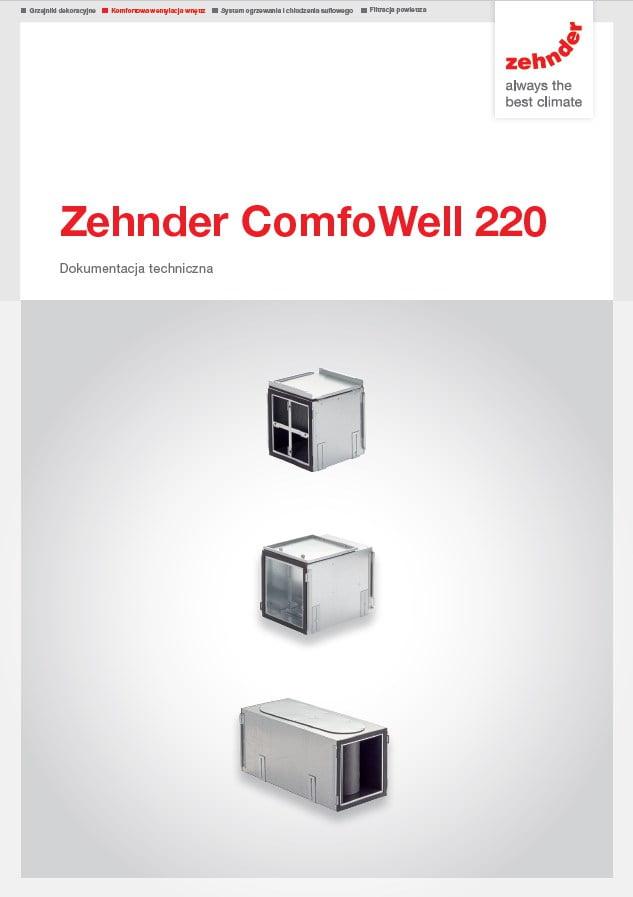 Zehnder ComfoWell 220 Dokumentacja techniczna