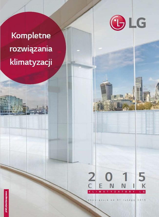 2015 - Cennik LG - klimatyzacja, rekuperacja, pompy ciepła