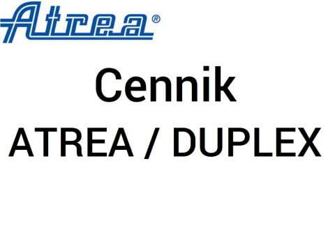 Cennik Atrea - Duplex