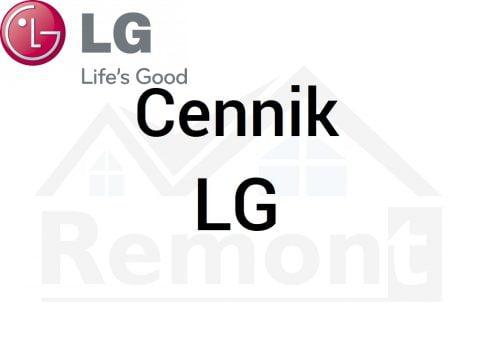 Cennik LG