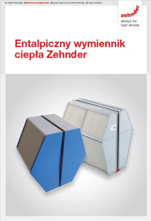 Entalpiczny wymiennik ciepła Zehnder - folder