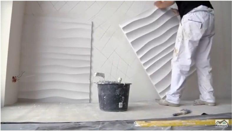Instrukcja montażu paneli gipsowych ściennych