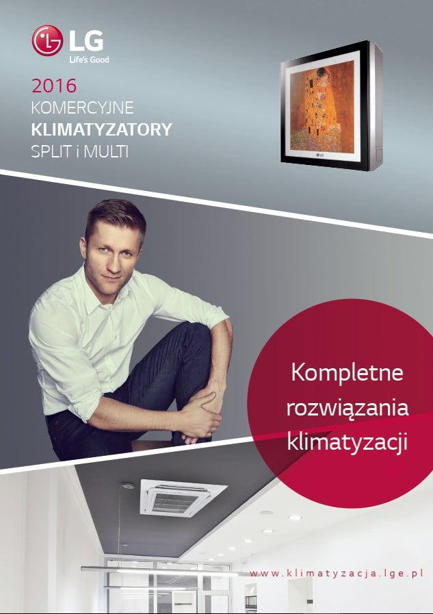 G Katalog - LG Klimatyzatory komercyjne, split, multi - katalog 2016