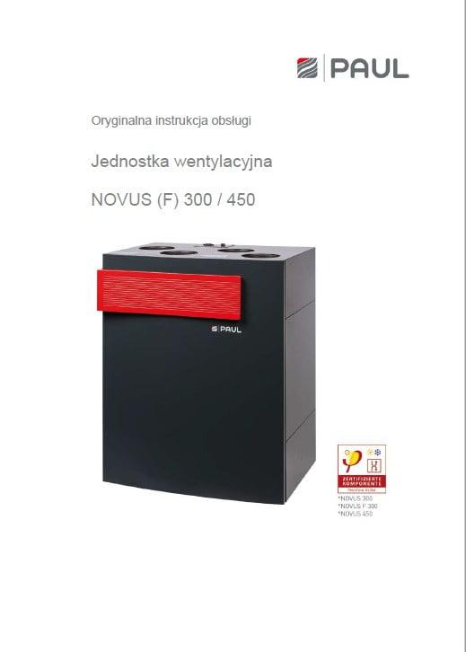 NOVUS (F) 300-450 instrukcja obsługi