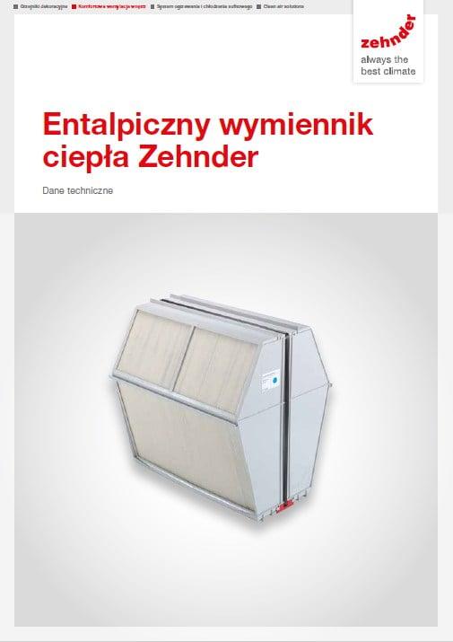 Zehnder - entaliptyczny wymiennik ciepła