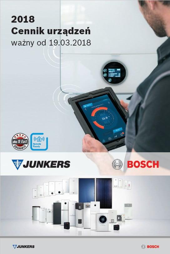 Bardzo dobra Junkers - Bosch Cennik 2018 BF36