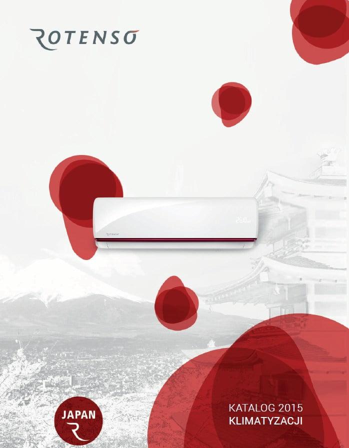 Katalog 2015 klimatyzatory Rotenso