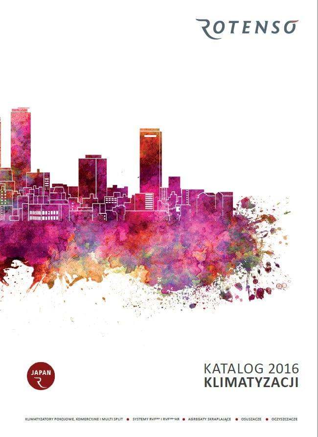 Katalog 2016 klimatyzatory Rotenso