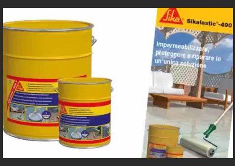 Film - prezentacja produktu Sikalastic 490 T