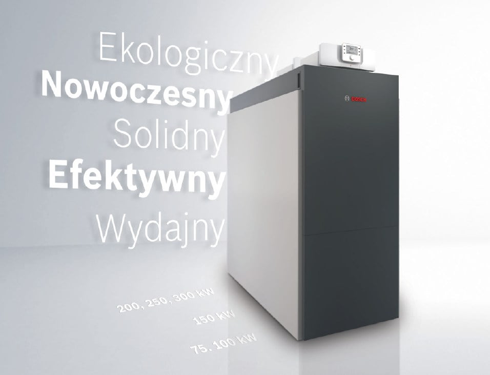 Junkers Bosch Condens 7000 F - zalety
