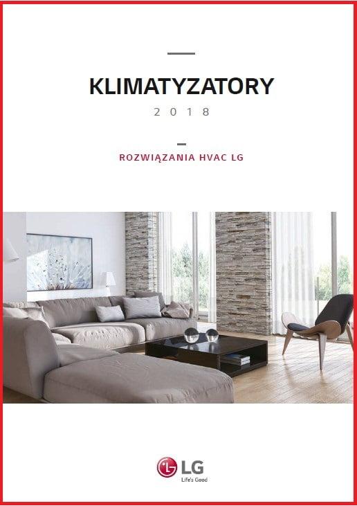 LG Katalog produktowy 2018 - klimatyzacja ( klimatyzatory ścienne, multi split, komercyjne), pompy ciepła Therma V