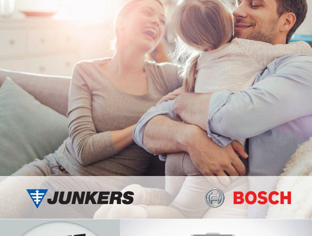 JUNKERS - BOSCH Ulotka Bosch Vent 5000 C