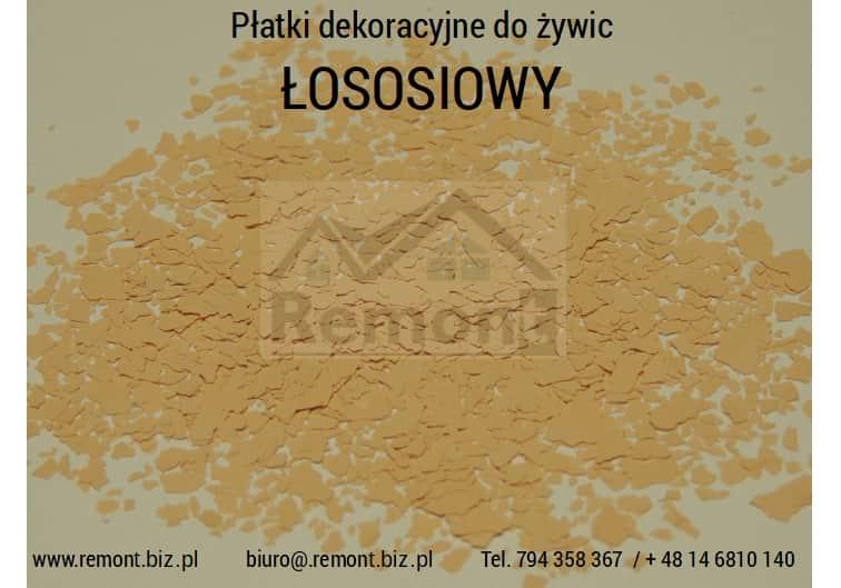 Płatki dekoracyjne do żywic ŁOSOSIOWY